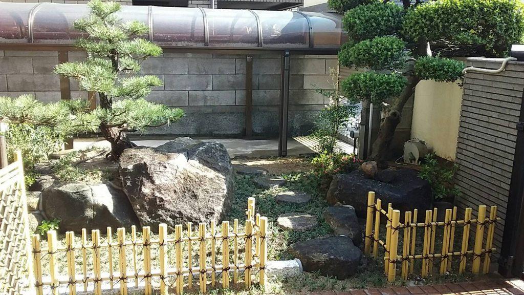 竹垣や竹製品の施工